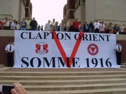 O's Somme Banner at Thiepval