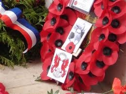 william jonas wreath at Thiepval